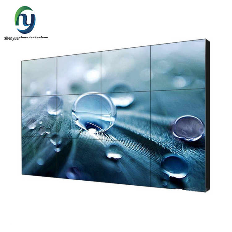 55 Inch Wire Wall Mounted Display Lcd Video Wall Video Flat Screen Tv For <strong>Advertising</strong>