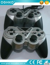 USB Twin shock double vibration gamepad for pc