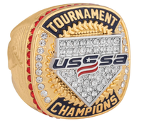 High Quality Fantasy Baseball Championship Rings