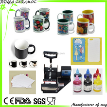 most popular sublimation products for sublimation mug,cell case, machine,paper, ink