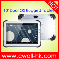 Nfc android tablet RuggedPad 12 IP65 Waterproof WCDMA 3G Android 4.4 or window s 10 OS