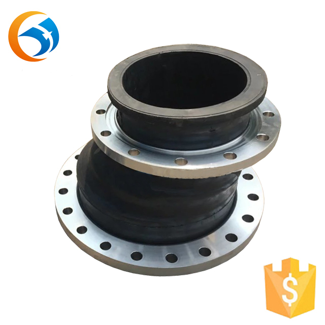 din pn6 flange concentric reducing rubber joint