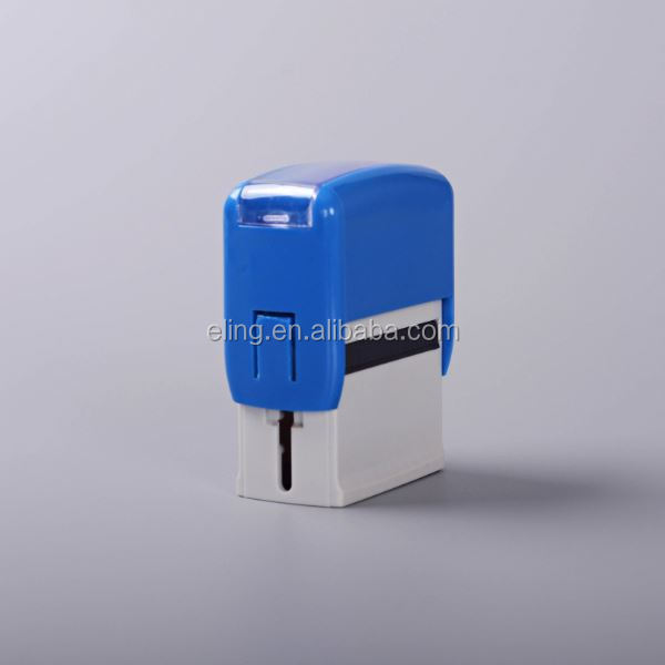 Plastic Self inking Stamp invisible inking stamp