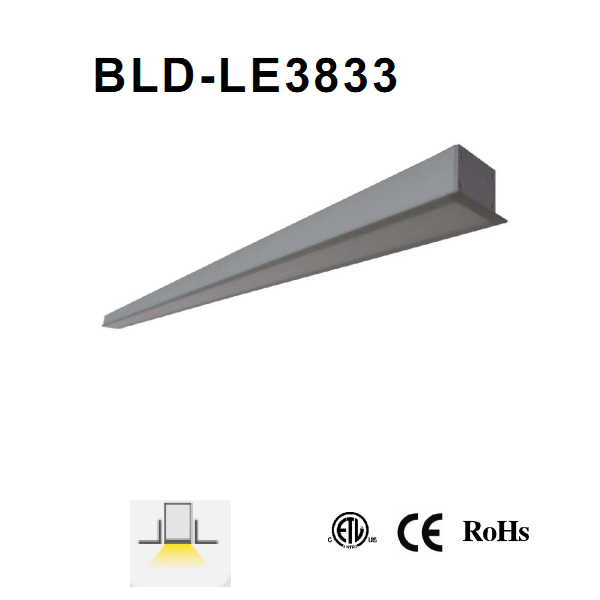 LED 38*33 Linear Lamp For Lamps Engineering Project