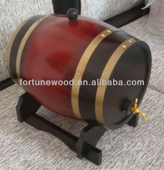 FORTUNE 5 litre Wooden Barrels for sale
