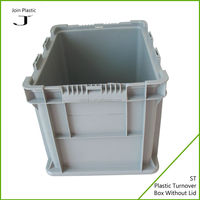 Clear plastic tackle boxes