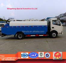 Dongfeng 5000L High Pressure Pipe Cleaning Truck, Sewer cleaning vehicle for sale