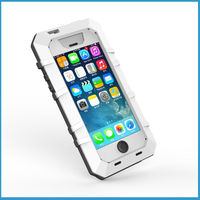 Aluminum Compression Aluminum shockproof waterproof hard case for iphone 5 5s Case cover