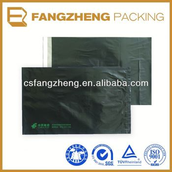 High quality full color printing destructive glue polymailer
