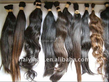 Ali Express Direct Factory Wholesale No Tangle No Shedding Cheap Raw Virgin Human Hair 100 Unprocessed Indian Hair Bulk
