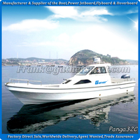 Gather 32ft fishing boat, fishing boat for sale, fiberglass fishing boat
