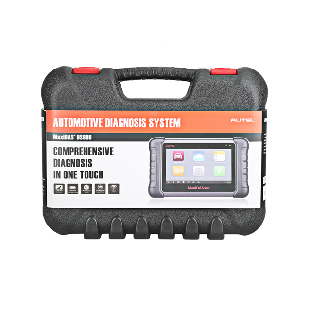 AUTEL MaxiDAS DS808 Auto Diagnostic Tools With <strong>Full</strong> Set Support <strong>Injector</strong> &amp; Key Coding