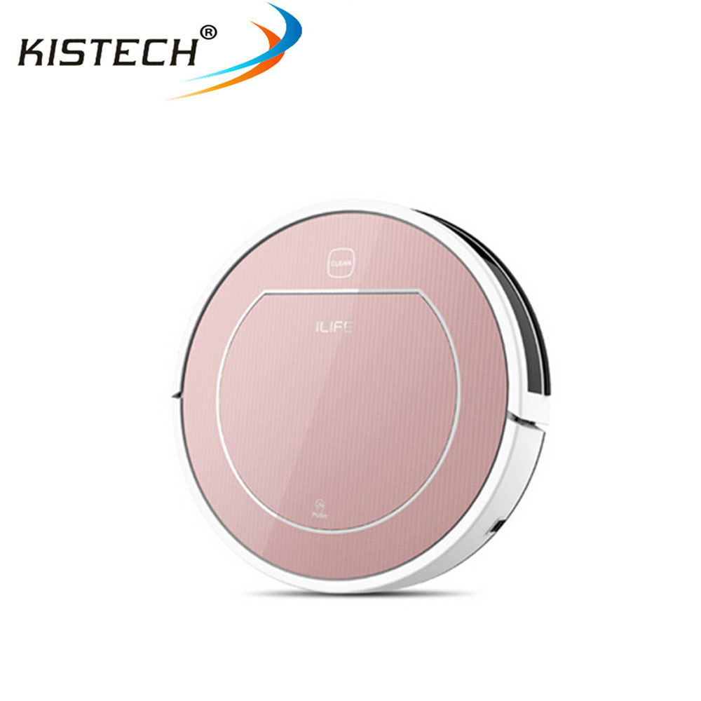 Original factory Ilife V7S PRO Robot Vacuum Cleaner for home Wet Dry Clean Water Tank Double Filter Ciff Sensor Self Charge