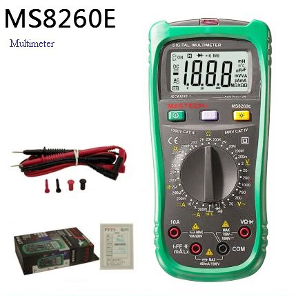Mastech Multimeter MS8260E Mastech Clamp Digital Meter Indulane
