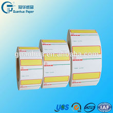 high quality pre printed price labels