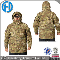Guangzhou factory manufacturer for camouflage army jacket clothes