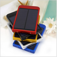 2016 Portable 2600mah solar external backup battery charger for mobile phone