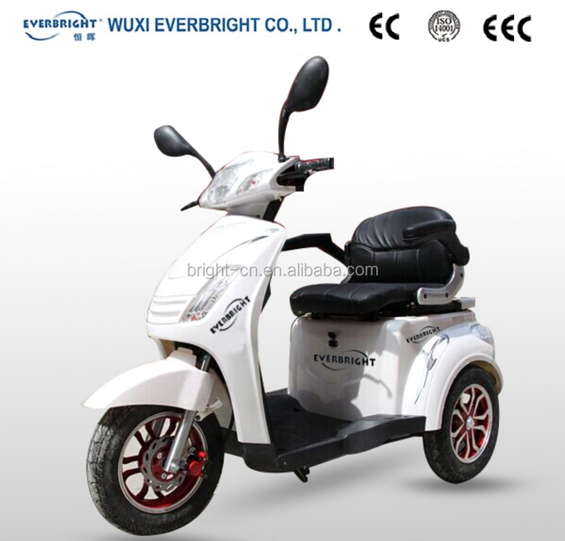 hot selling 48V 500W 3 wheel electric tricycle adults