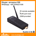 Promotion! 4K cheap Amlogical S905X Kodi stick Android 6.0 OS Quad Core 1G DDR3 8G Rom fire tv stick with IR remote & RJ45 port