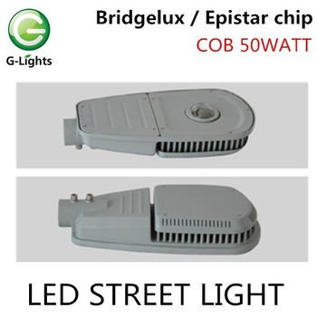 High bright high power 45w 50w 55w 60w 65w 70w 72w 75w 80w 85w ip65 waterproof dlc cob led street light