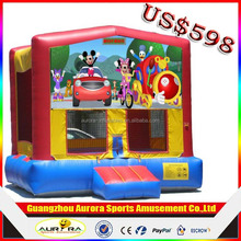 New design Commercialinflatable castle mickey mouse with factory lower price