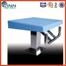 Top design Anti slip Stainless steel+ ABS material competition starting block swimming