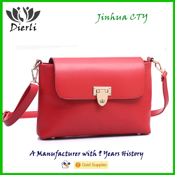 PU Leather Lady Fashion Handbag