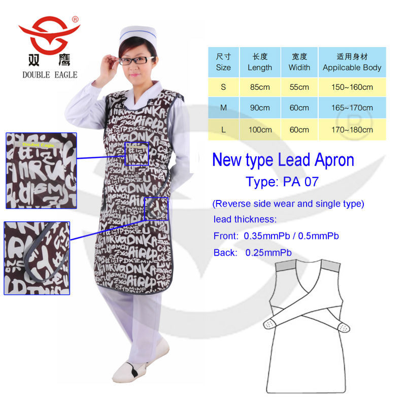 CE X-Ray Protective Aprons Radiation Protection Cloth Chinese X-Ray Protective Lead Aprons