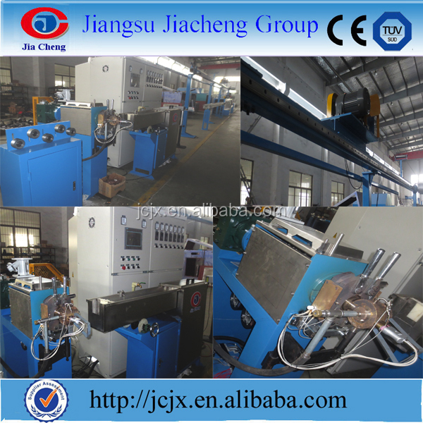 Teflon PTFE/FEP/PFA/ETFE Extruder wire making machine - Extrusion Equipment Supplier