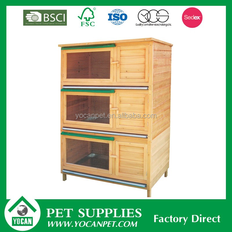 Chinese fir fashion style rabbit cage industrial