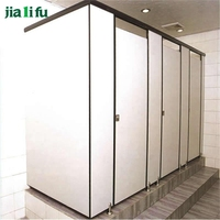 Jialifu phenolic resin board office toilet cubicles for sale