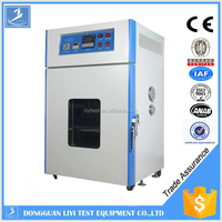 Hot air drying heat induction fusing oven