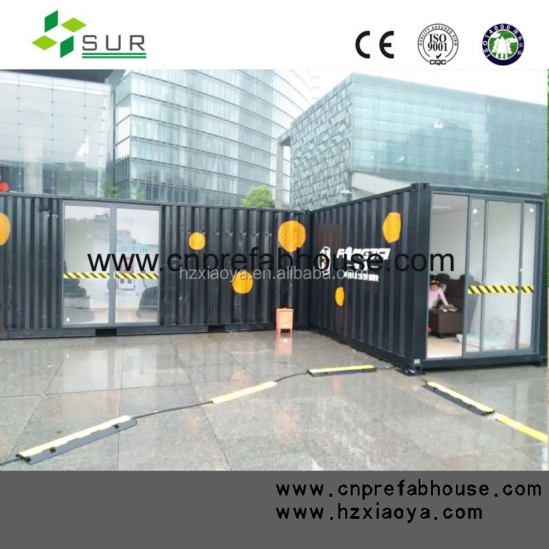 portable cabins used Special designed container as office shop and coffee bar