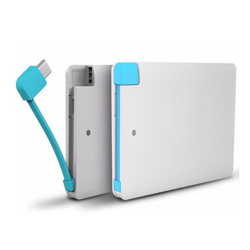 Ultra Slim Business Card 2500Mah li-polymer battery power bank