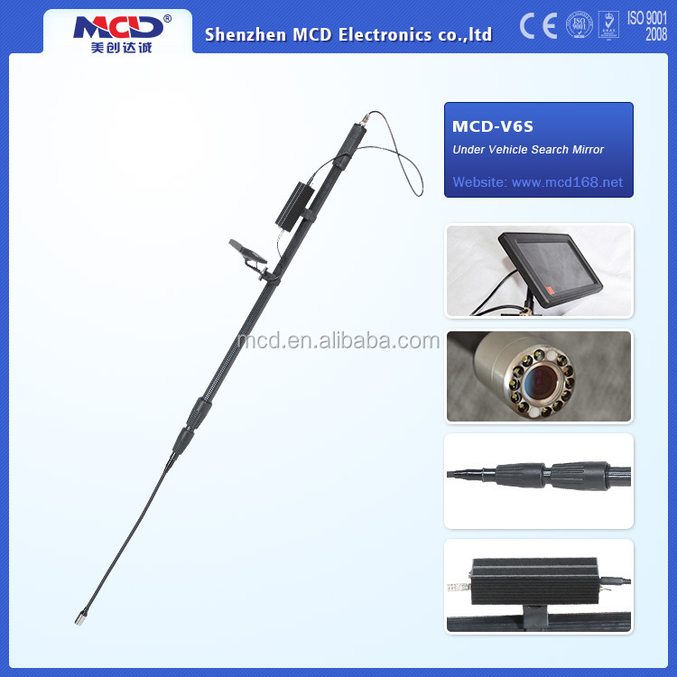 Excellent Quality!!Vehicle Security Equipment,Under Vehicle Inspection Mirror MCD-V6S