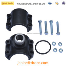 hdpe pipe fitting female saddle clamp pn16 prices list for hdpe irrigation pipes
