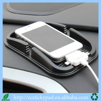 non-slip mobile phone holder high quality sticky pad for phone