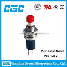 CGC high quality PBS-10B-2 stainless steel push button switch