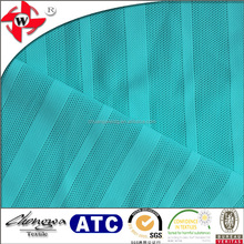 Chuangwei Textile warp knitting 4 way stretch striped power mesh fabric for tights
