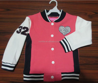 white and pink sport fashion knitted baby girls alpaca coat