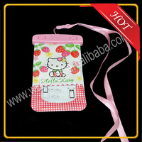 PVC waterproof cell phone bag