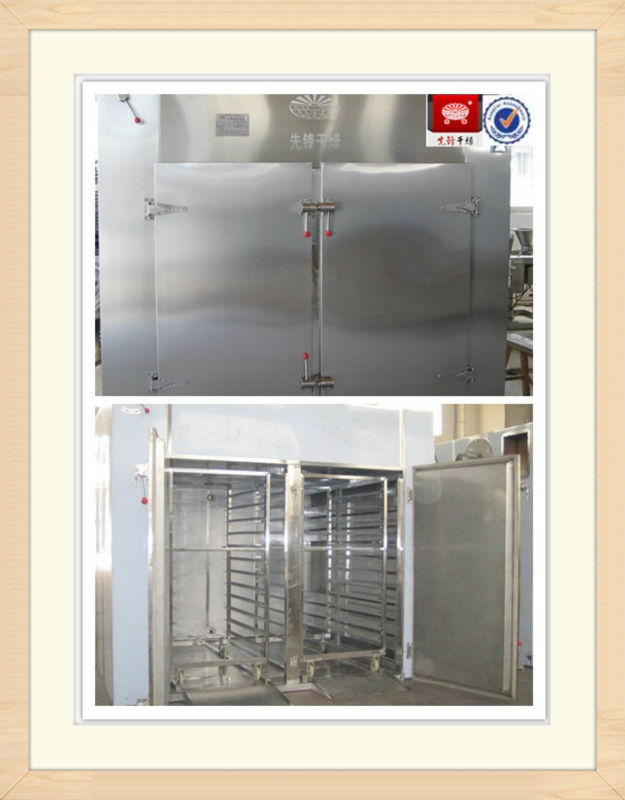 Fruit and vegetable hot air drying oven