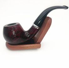 Mettle High Quality Carved Wooden Tobacco Pipes With Acrylic Pipe Stem
