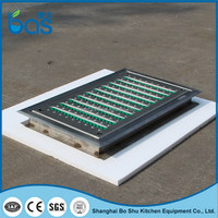 LB500 best quality best selling new style can replace custom size cast iron grill grates