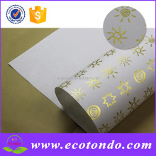 wholesale custom printed gift flower wrapping papers
