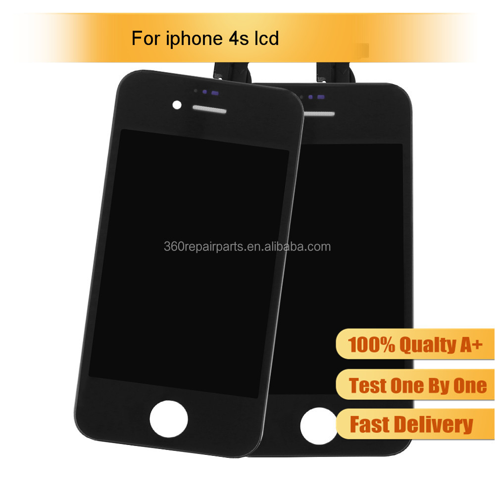 Top Quality LCD Screen Replacement for iPhone 4s LCD Screen, for iPhone 4s Display, for iPhone 4s LCD