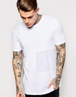 Wholesale men OEM custom trendy design print casual fit t-shirt