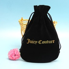 new products velvet drawstring pet food bags with custom logo