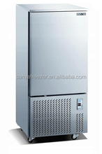 Quick-Frozen Food Stainless Steel Kitchen Blast Freezer