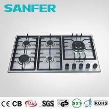 33 inch stainless steel restaurant equipment kitchen gas stove tops